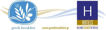 "Award of the hotel restaurant, Alios Ilios, by the Hellenic Chamber of Hotels with the certificate ""Greek Breakfast"""