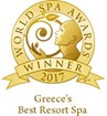 """Greece's Best Resort Spa"" for 2017 in the World Spa Awards"