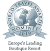 Nominated as ''Europe's Leading Boutique Resort 2019'' in the World Travel Awards