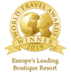 Awarded as ''Europe's Leading Boutique Resort 2019'' in the World Travel Awards