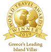 Awarded as ''Greece's Leading Island Villas 2019'' in the World Travel Awards