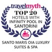 TOP 20 Hotels with Infinity Pool in Santorini