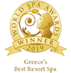 "Awarded as ""Greece's Best Resort Spa 2019"" in the World Spa Awards"