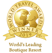 "Awarded as ""World's Leading Boutique Resort"" in the World Travel Awards"