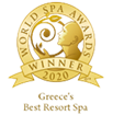 "Awarded as ""Greece's Best Resort Spa 2020"" in the World Spa Awards"